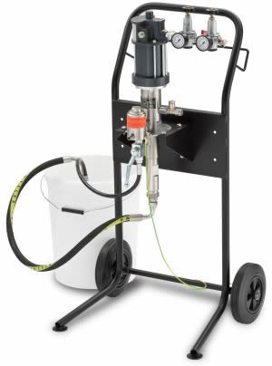 BMP Wiwa 433 Pneumatic Air-Assisted Paint Spraying Pump Suction/Gravity