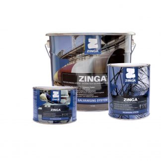 Zinga Cold Galvanising Zinc Coating